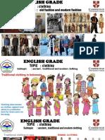 English Grade 4 Clothing