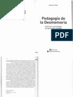 04013180 - Valko - Pedagogía de La Desmemoria, Caps. 6 y 7