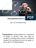 Transportation Laws PPT