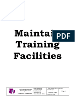 Maintain Training Facilities