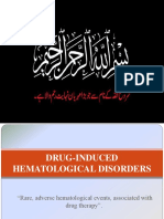 Drug Induced Hematological Disorders