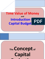 ONAL Time Value of Money and Capital Budgeting