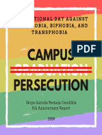 Report on Campus Persecution