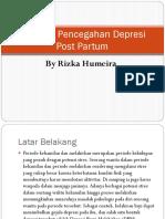 Program Pencegahan Depresi Post Partum