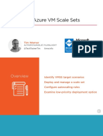 Deploying Azure Virtual Machine Scale Sets Slides