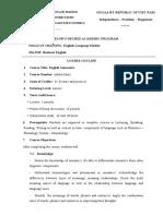 Course Outline- Semantics- Eng