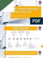 Hrdf Training Provider Orientation (Latest180419)