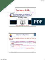 Logarithmic Vibration Lecture