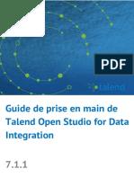 TalendOpenStudio DI GettingStarted FR 7.1.1