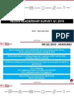 IRS q1-2019