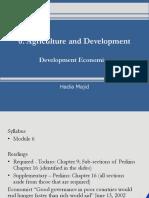 6.AgricultureandDevelopment.pptx