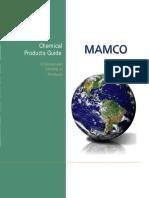 MamcoChemicals Catalog