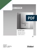 Manual de instruções - Caldeira mista de condensação Vaillant ecoTEC pure.pdf