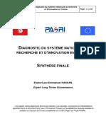Diagnostic Recherche en Tunisie