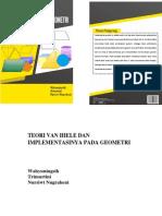 Buku Teori Van Hiele Dan Implementasinya Pada Geometri