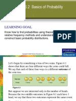 Section 6-2 Basics of Probability