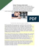 Contoh Teks Diskusi Tentang Anak.docx