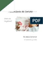Nacimiento de Carlota