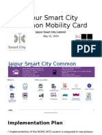 Jaipur Smart City Common Mobility Card-RL