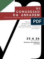 VI Congresso ABRAPEM - Caderno de Resumos