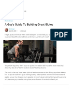 A Guy's Guide to Building Great Glutes