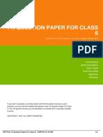 ID05fd8b2f6-fa question paper for class 6