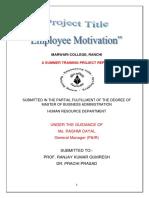 NEW corrected kumari kajol's Project on Motivation.docx