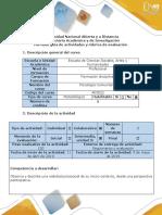 Guía de Actividades y Rúbrica de Evaluación - Fase 4- Trabajo Colaborativo 3-Profundización
