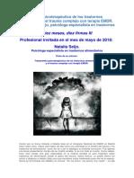 Tratamiento Psicoterapéutico de Los Trastornos Alimentarios y El Trauma Complejo Con Terapia EMDR