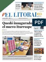El Litoral Mañana 15/05/2019