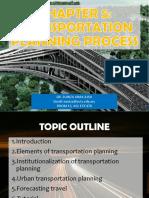 Chapter 5 - Transportation Planning Process