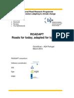 ROADAPT Case Study A24 Portugal Quickscan Report