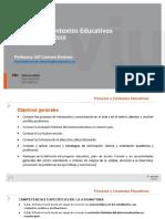 Procesos y contextos educativos - TC1