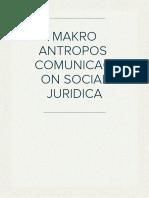 La Comunicación Social Jurídica Como Forma de Prevención Del Delito de Simulación de Hechos Punibles y de Calumnia