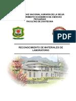 Informe de laboratorio de Quimica 1