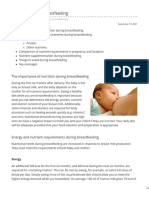 Myvmc.com-Nutrition During Breastfeeding
