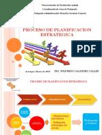 Proceso de La Planificacion Estrategica