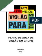 Projeto Arte Musical Violão Para Todos.docx