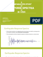 Responce Spectra of is 1893