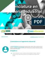 Ingenieria Industrial Plan-De-estudios Utel On