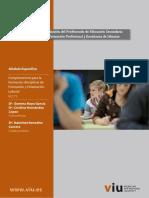 """Manual de la Asignatura - """"Complementos para la formación disciplinar de FOL"""" (VIU)"""