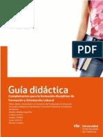 Guía docente ~ Complementos para la formación disciplinar de FOL (VIU)