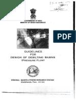 CWPRS Guidelines for Design of Desilting Basin.pdf