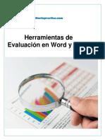 Herramientas de evaluación en Word