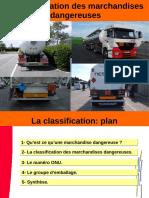 4- La Classification Des Marchandises Dangereuses 2015