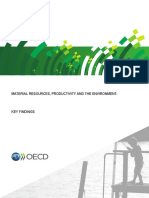 Material Resources, Productivity and the Environment_key Findings