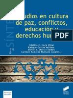 Estudios en cultura de paz, conflictos, educación y derechos humanos - Cristina E. Coca Villar.pdf