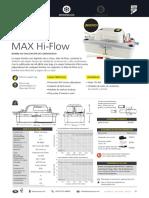 MAX Hi Flow Techsheet ES