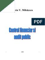 Control Financiar Si Audit Public 2015