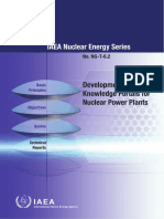 Development of Knowledge Portals for Nuclear Power Plants